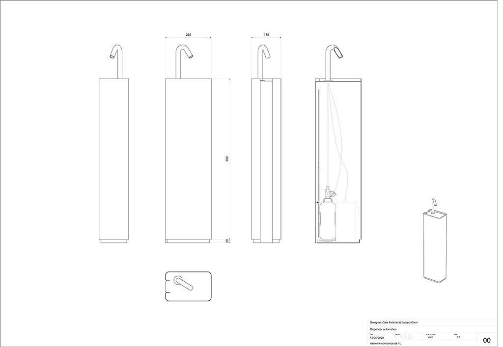 scheda tecnica design Design