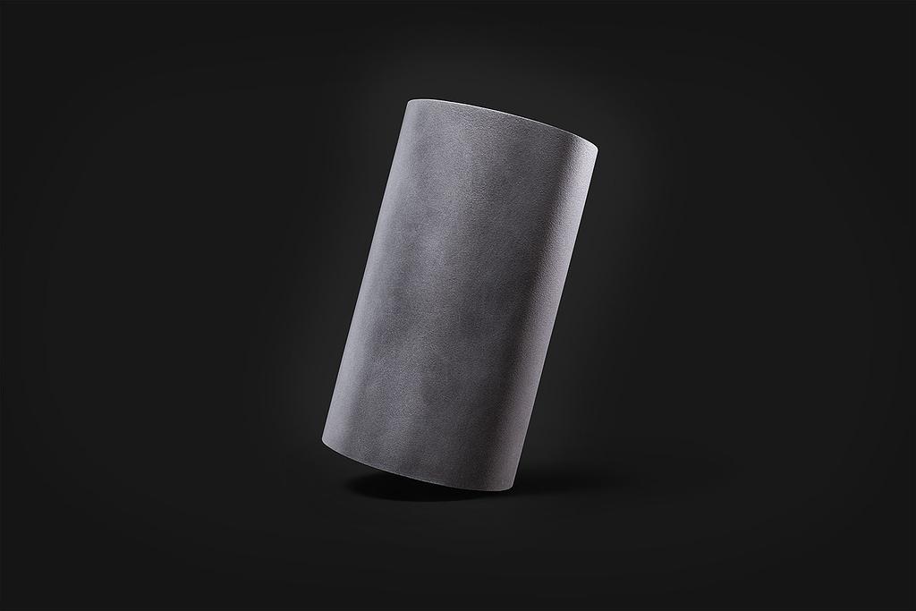 Materico alluminio grezzo inclinato Superfici Verniciate