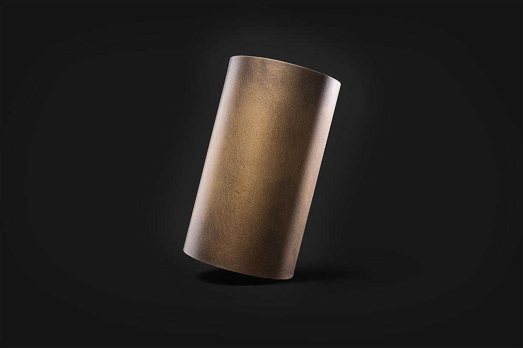Delabre brass etoile inclinato Superfici Verniciate